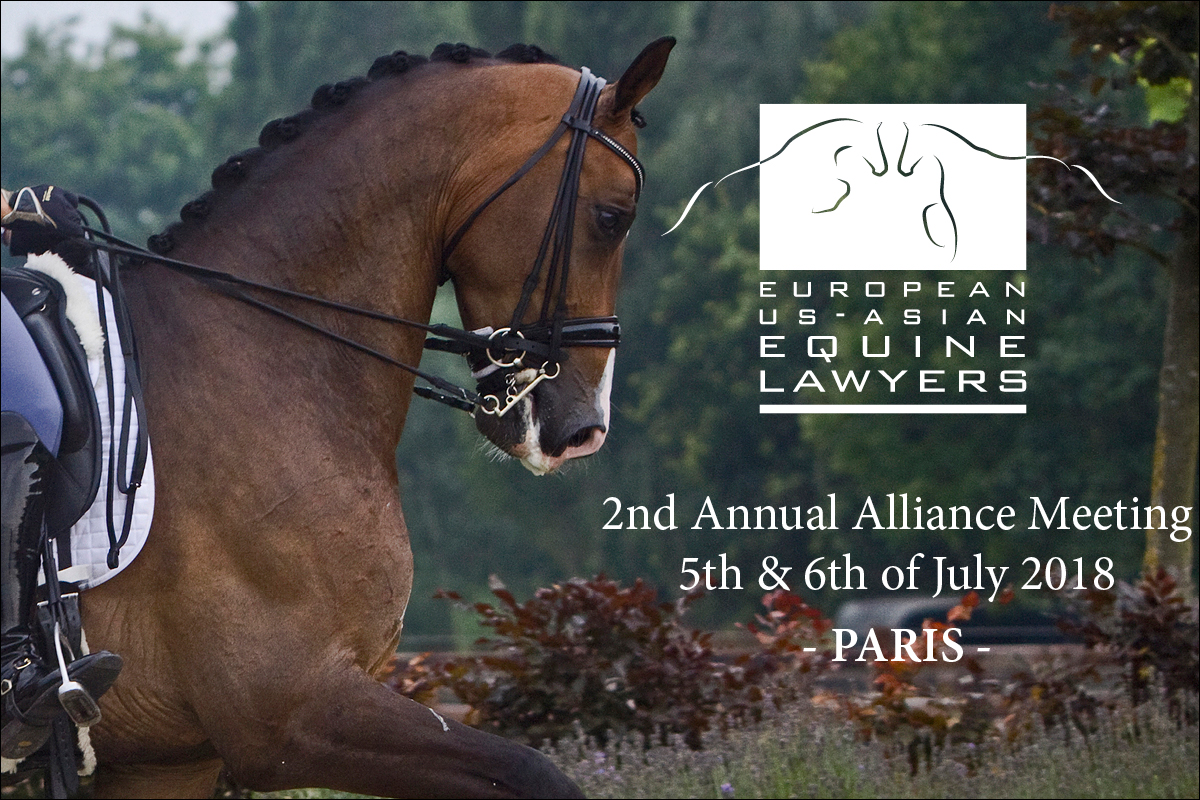 Media And Recent Cases European Us Asian Equine Lawyers Euael Aris Fog Light Wiring Diagram 2nd Annual Alliance Meeting